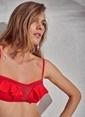 Morhipo Beach Bikini Üst Kırmızı